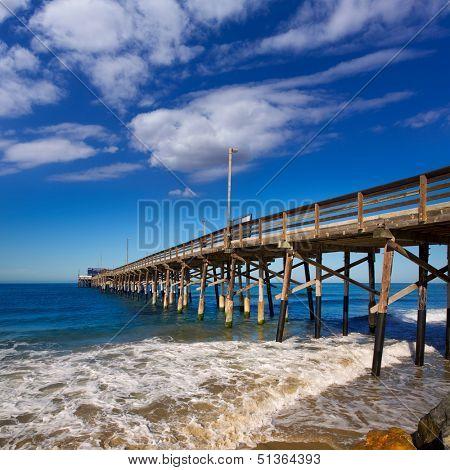 Newport pier beach in California USA surf spot