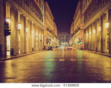 Retro Look Via Roma, Turin