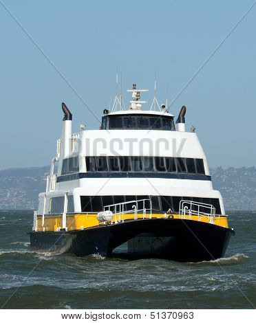 Ferry Boat In San Francisco