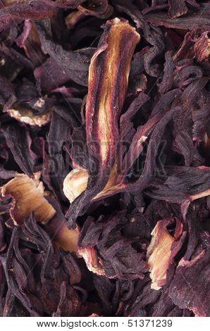 Hibiscus Tea Close Up