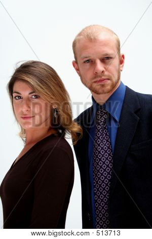 Business Team - Man And Woman