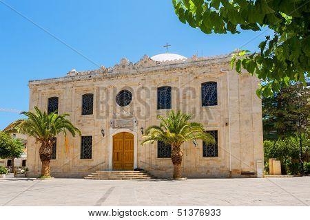 Saint Titos Church. Heraklion, Crete