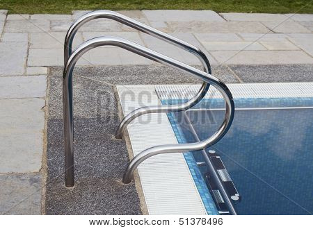 Swimming pool edge