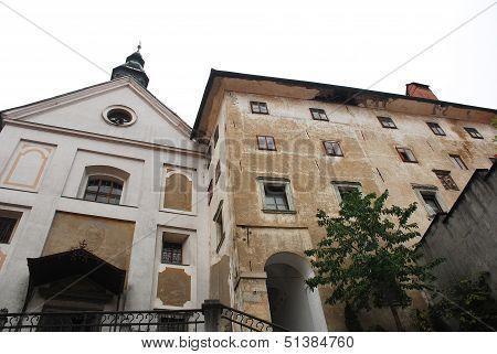 Church Of Mary The Immaculate In Skofja Loka