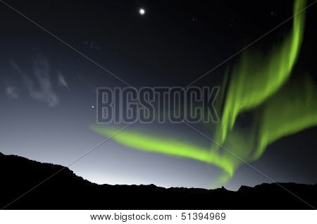 Northern Lights , Aurora Borealis