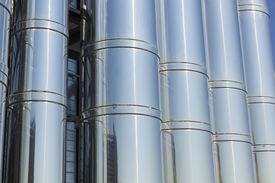 foto of gases  - Industrial Cooling System - JPG