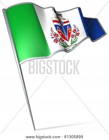 Flag Of Yukon (canada)