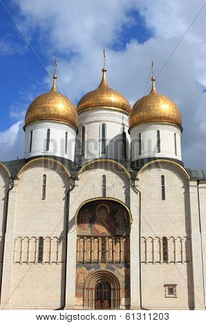 Cathedral of the Dormition in Moscow Kremlin