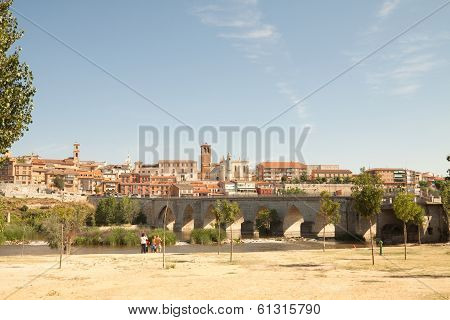 Tordesillas And Duero River