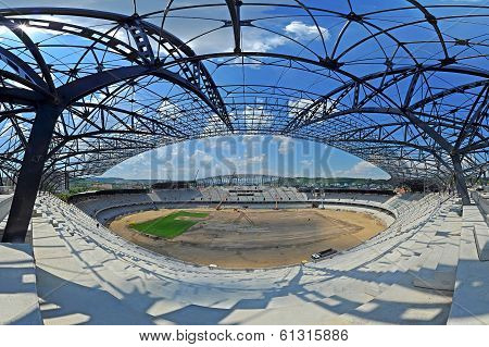 Construction Of A Stadium