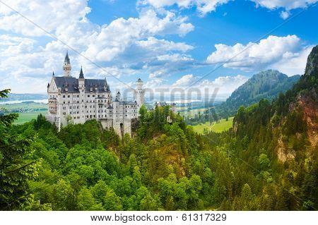 Neuschwanstein  Fortress