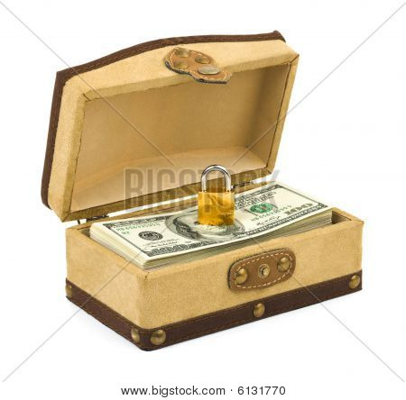 Money And Lock In Box