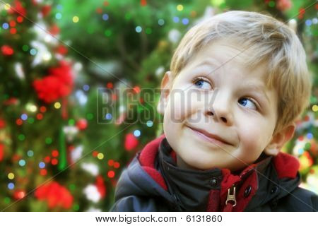 Christmas Child Portrait