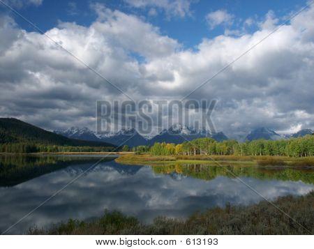 Tetons & Oxbow Lake