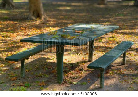 Green Park Picnic Bench