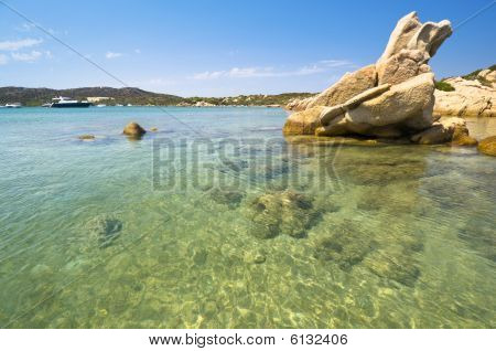 Blue Sea In Sardinia