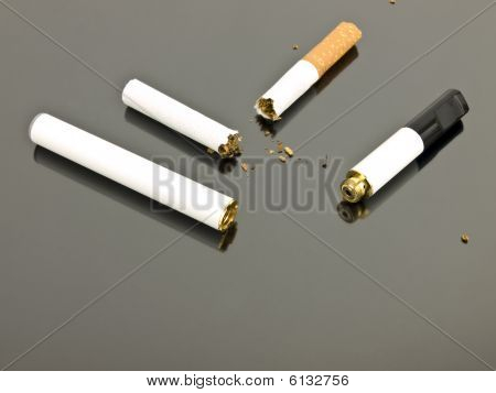 Electronic Cigarette And Analog Cigarette