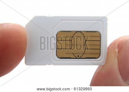 Simcard In My Fingers