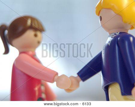 Hand Shake Friends
