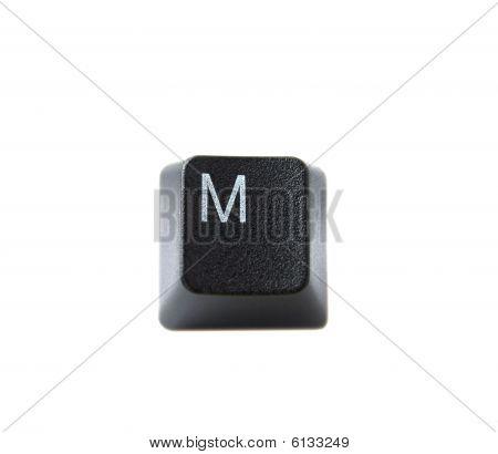 Keyboard Letter M