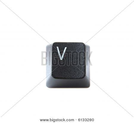 Keyboard Letter V