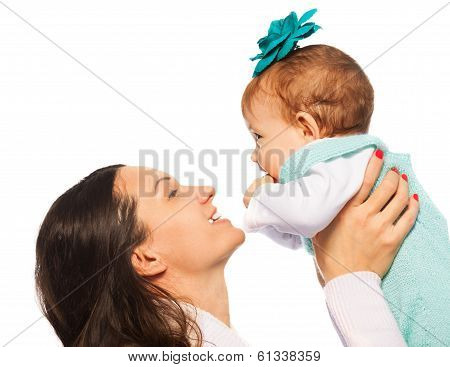 Mother Play With Baby