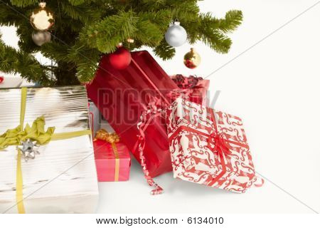 Cut Out Image Of Christmas Presents