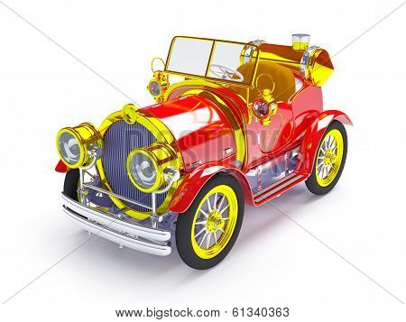 1910 retro car