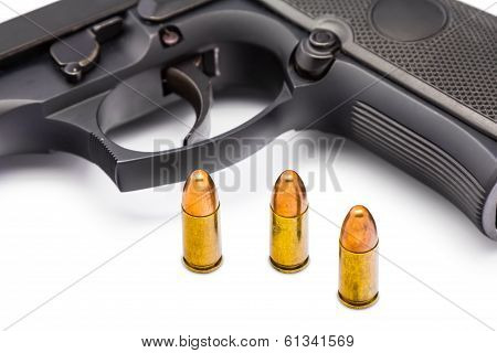 Bullets And Gun