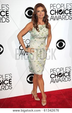 LOS ANGELES - JAN 8: Roma Downey at The People's Choice Awards at the Nokia Theater L.A. Live on January 8, 2014 in Los Angeles, California