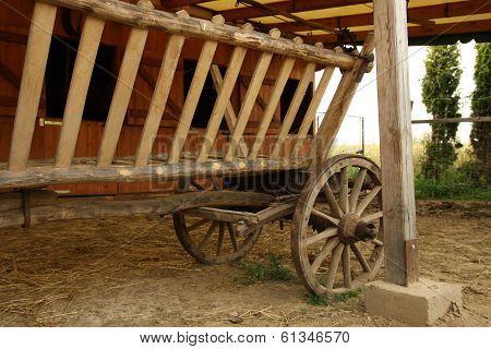 Wood cart