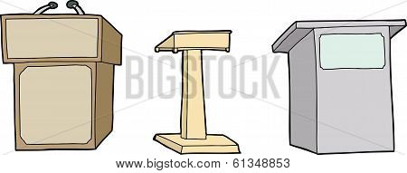 Isolated Lecterns