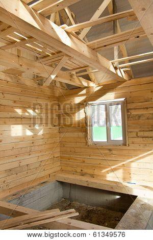 Unfinished Village House Inside