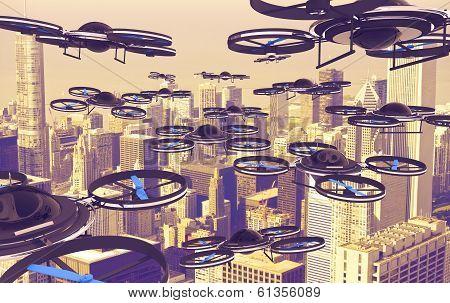 Drones Invasion