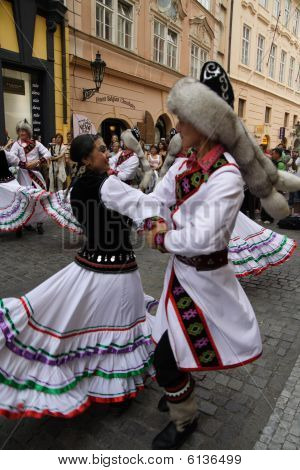 "Dancers at Folklore Festival ""Prague Fair� size="