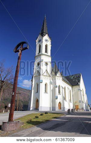 Old church at village Cernova, Slovakia