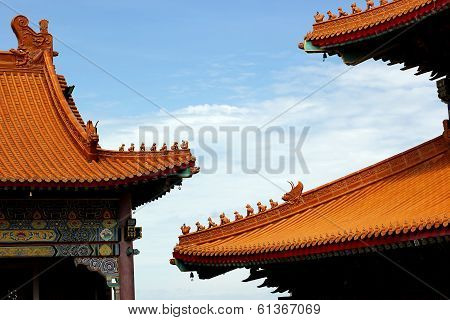 Gable Roof In Chinese Style