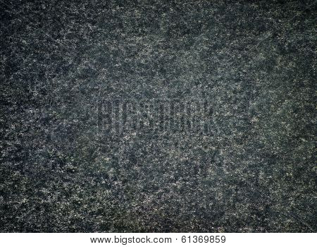 Fluffy Noisy Black And Green Fabric Texture With Grunge Style