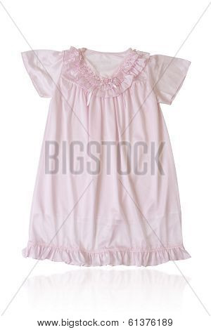 pink girl's sleepwear
