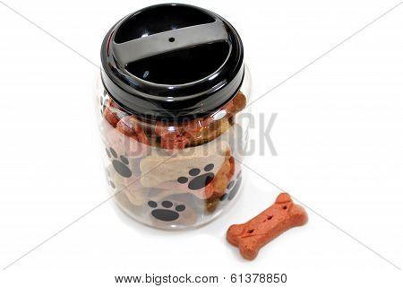 Jar Of Doggy Treats