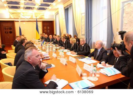 Meeting of heads of foreign affairs ministries of Ukraine and Russian Federation