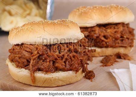 Pulled Pork Sandwichs