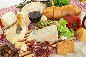 stock photo of italian food  - Gorgonzola - JPG