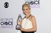 LOS ANGELES - JAN 8: Sarah Michelle Gellar at The People's Choice Awards at the Nokia Theater L.A. L