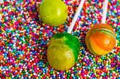 image of jimmy  - Cake pops. See my other works in portfolio. ** Note: Shallow depth of field - JPG