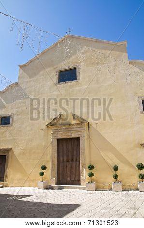 Mother Church of Genzano di Lucania. Italy.