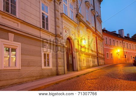 night street, Prague