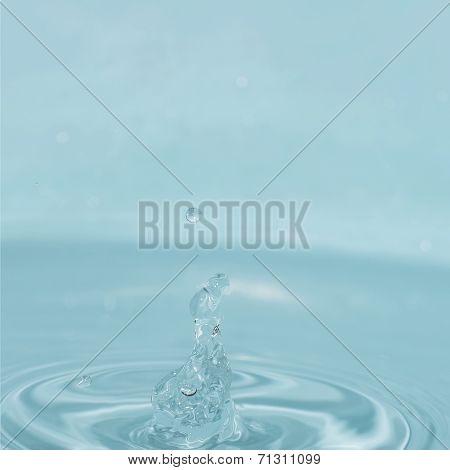 Splash Water Droplets