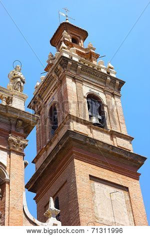 Bell Tower of the church is known as