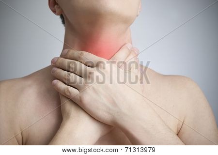 Sore Throat Of A Men